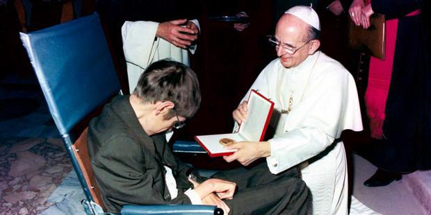 Stephen Hawking y Pablo VI